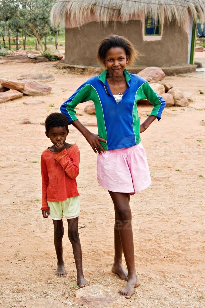 famiglia africana foto
