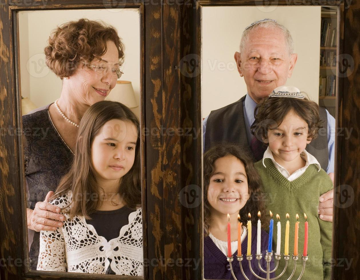 famiglia hannuka foto