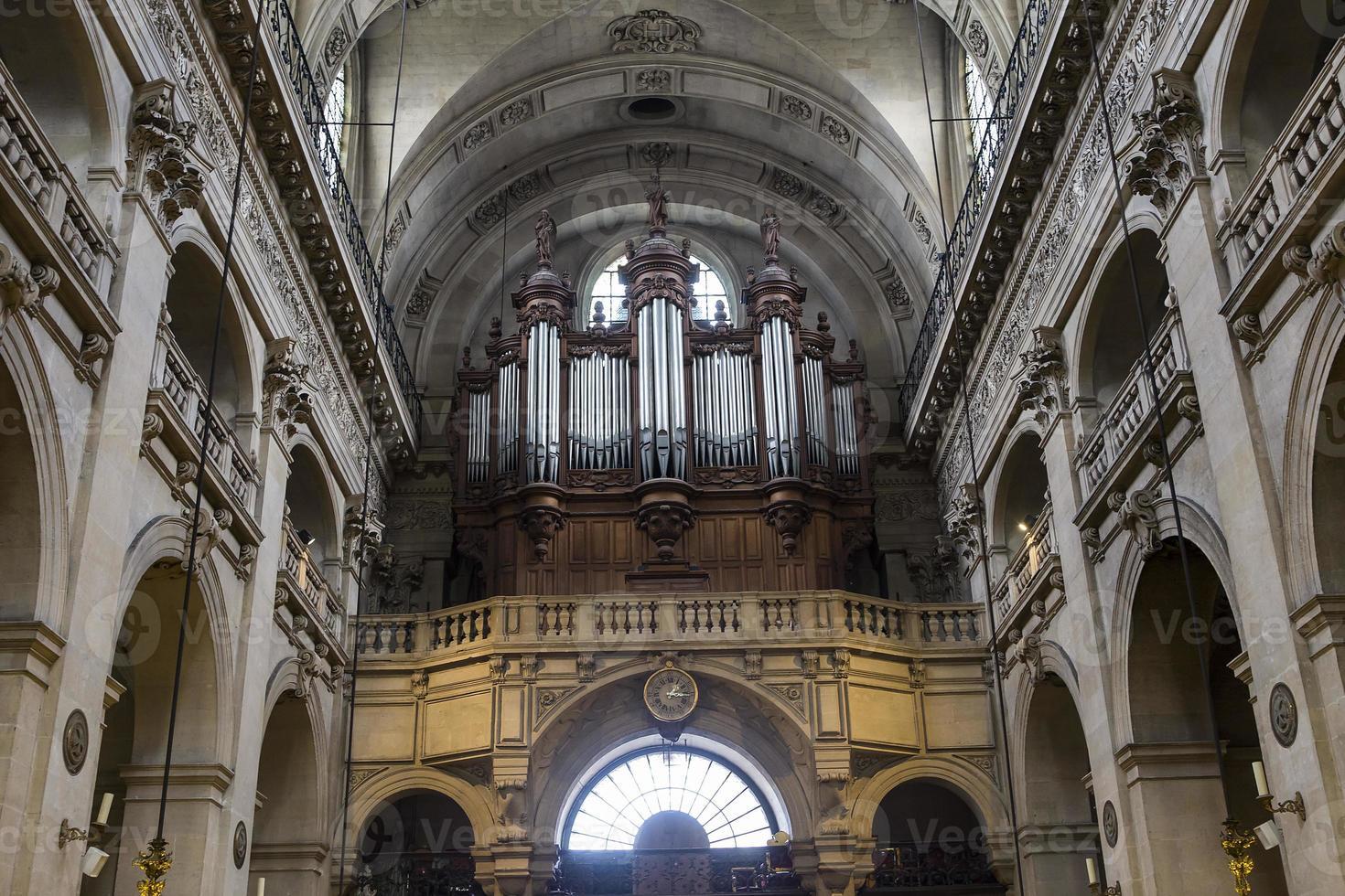 chiesa di saint-paul saint-louis, parigi, francia foto