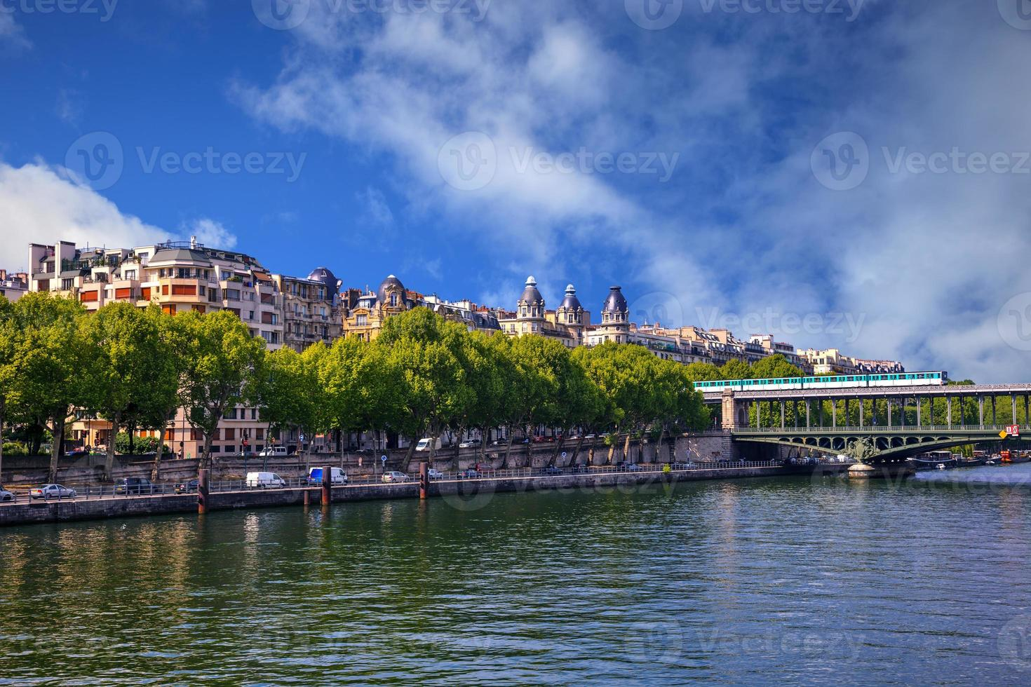 banchina di Parigi foto