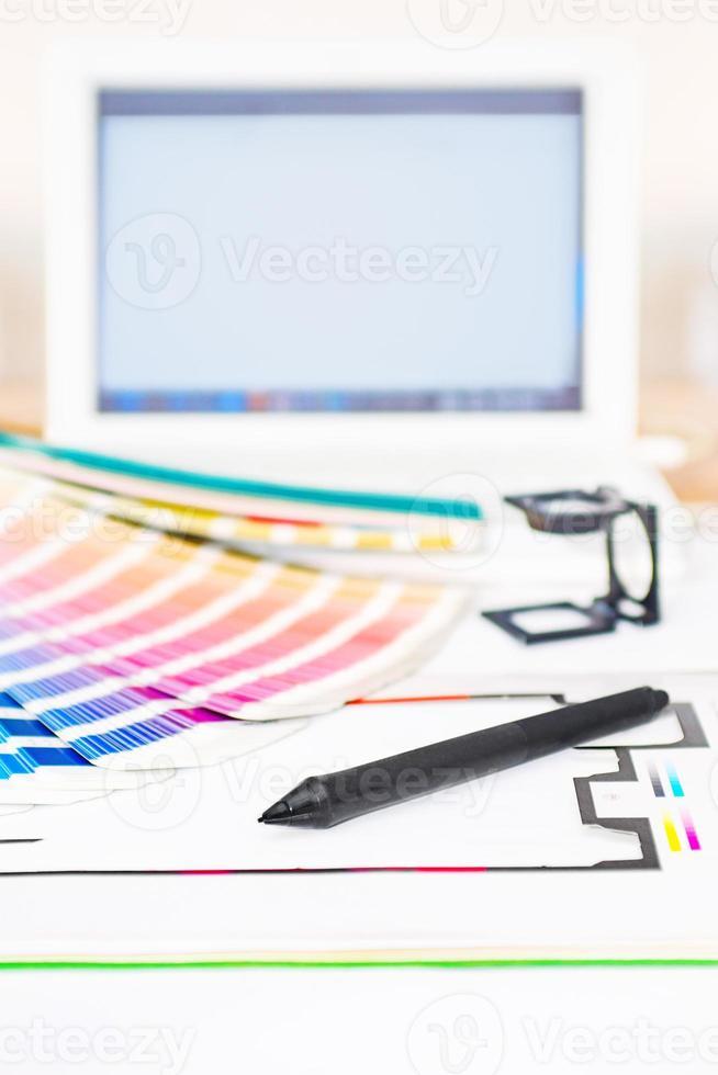 progettazione grafica e concetto di stampa foto