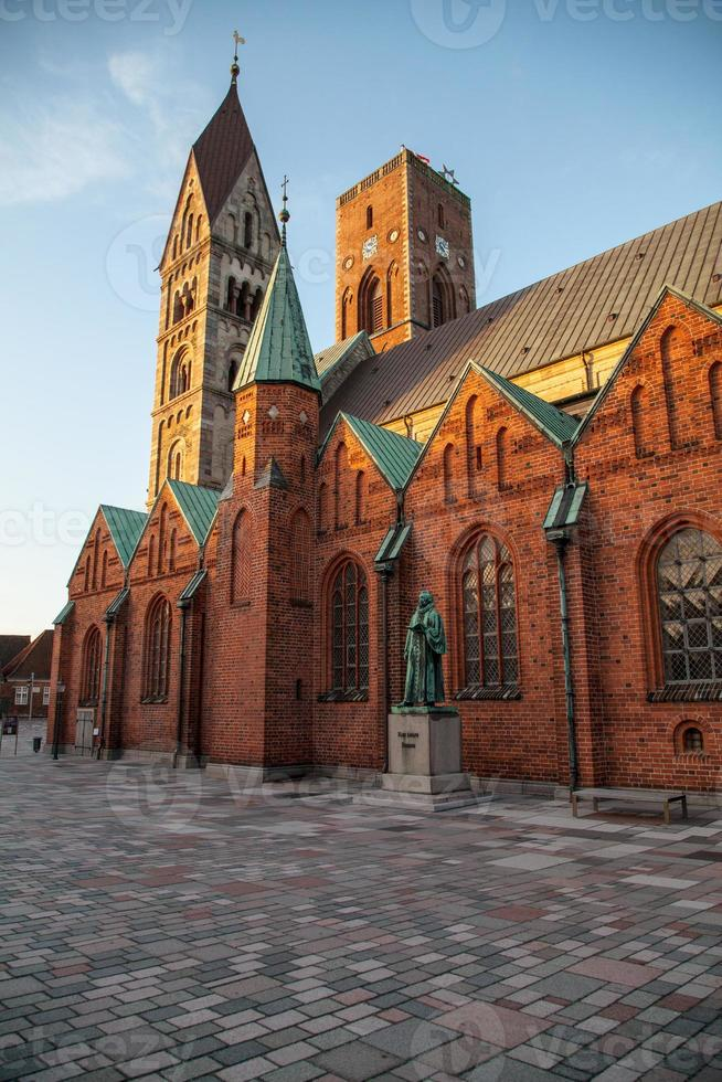 Cattedrale di Ribe in Danimarca foto