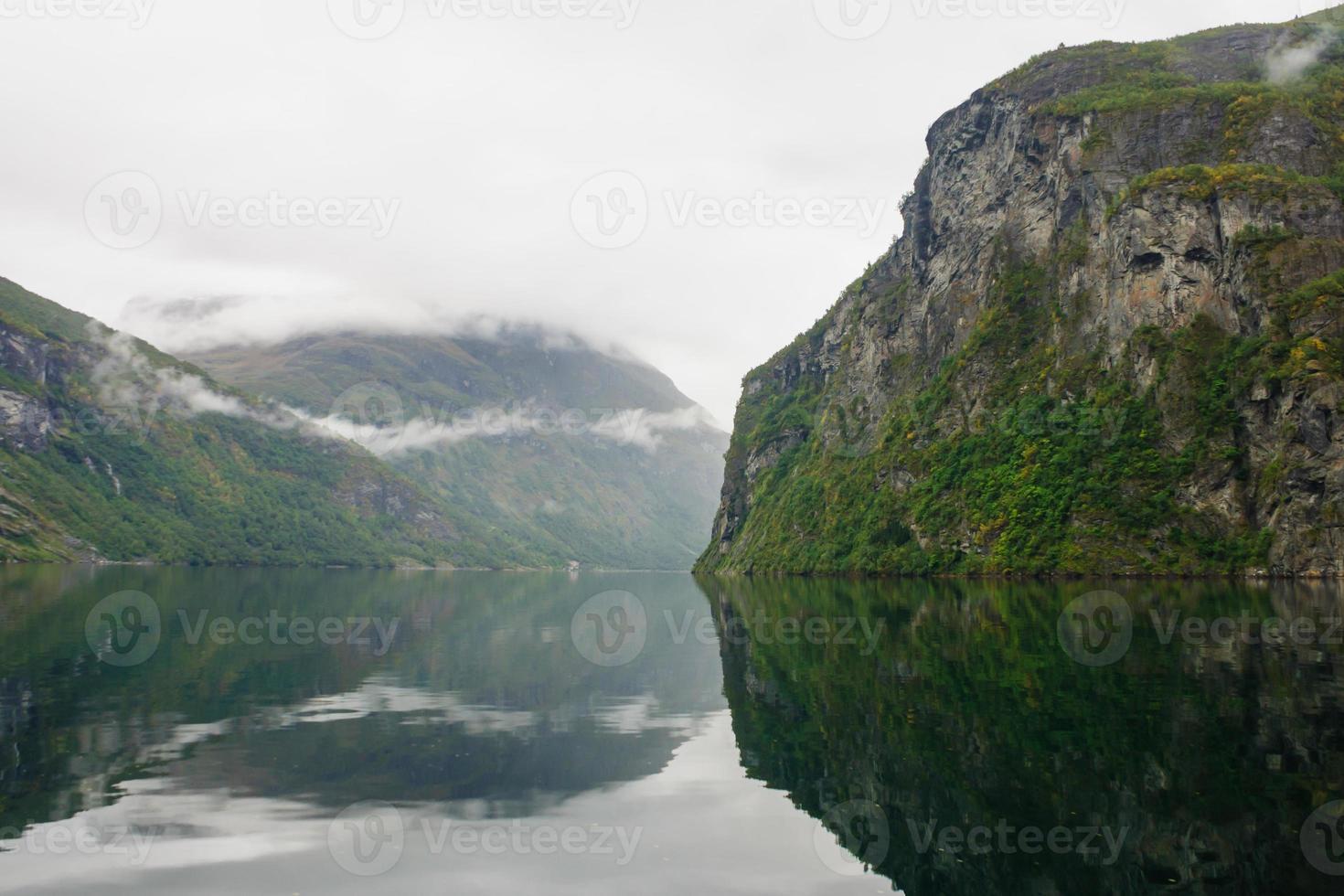 fiordo di Geiranger foto
