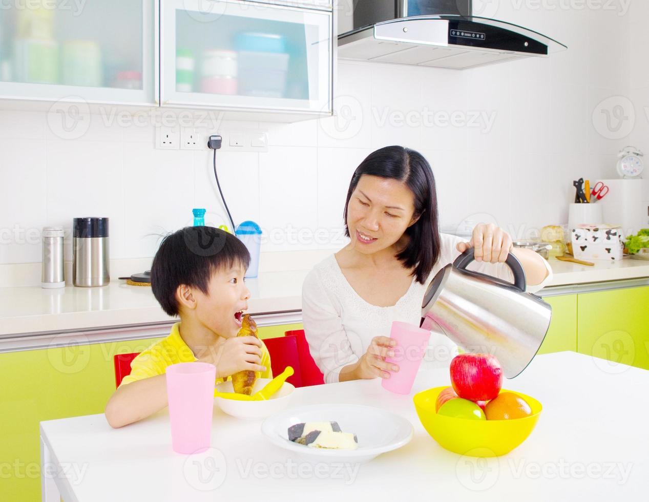 mangiare sano asiatico foto