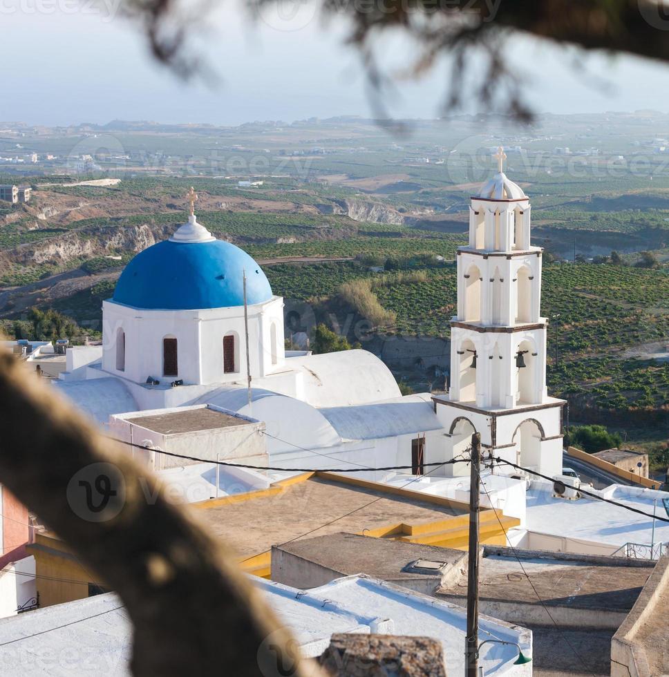 santorini, pyrgos, theotokaki chiesa foto