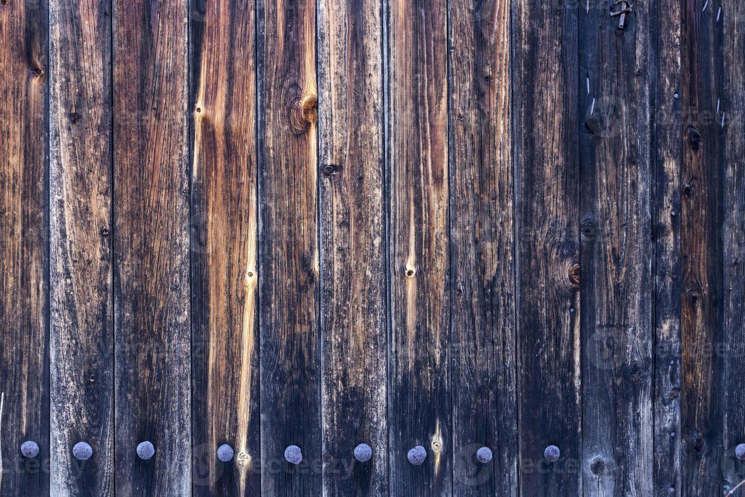 vecchio sfondo colorato in legno foto