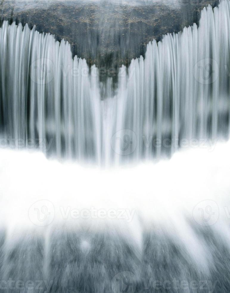 primo piano della cascata foto