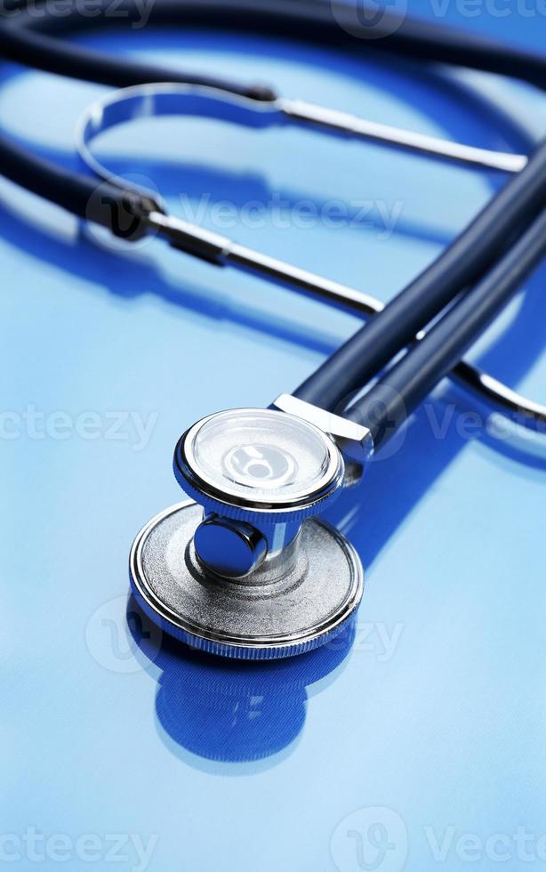 stetoscopio da vicino foto