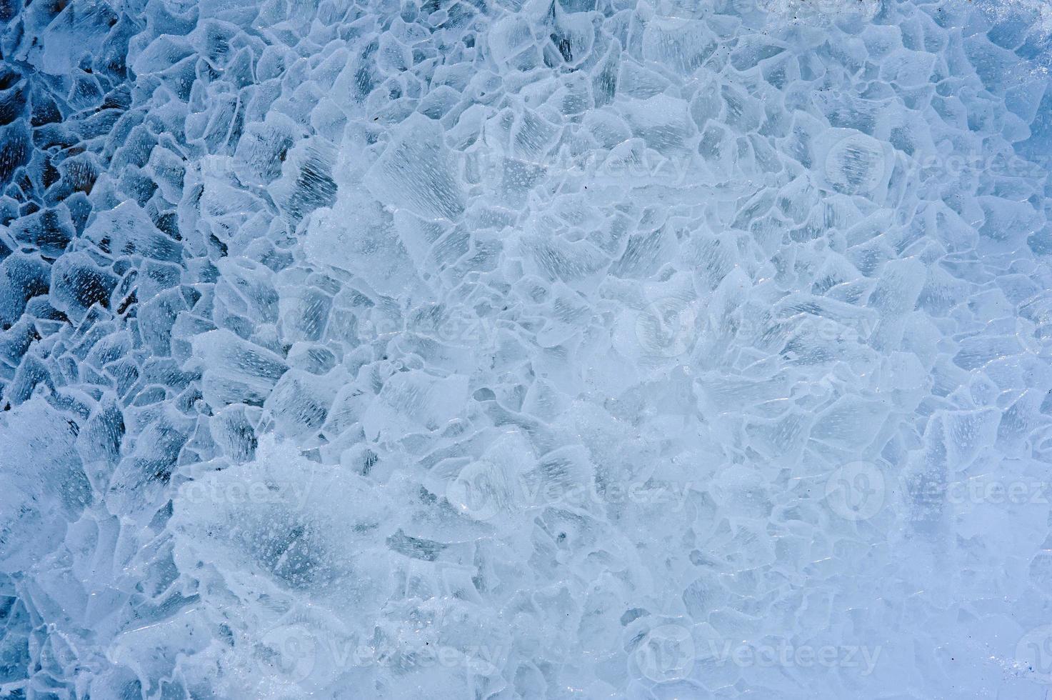 ghiaccio. avvicinamento. foto