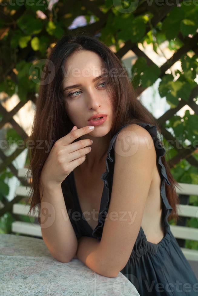 ritratto di ragazza sensuale foto