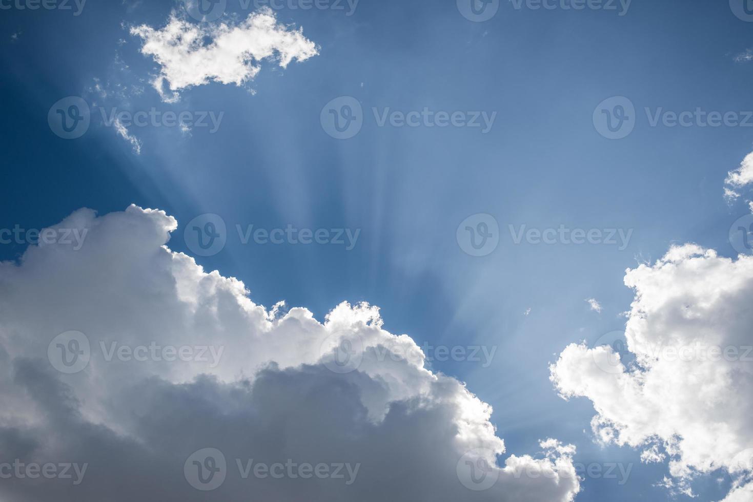 sfondo del cielo blu foto