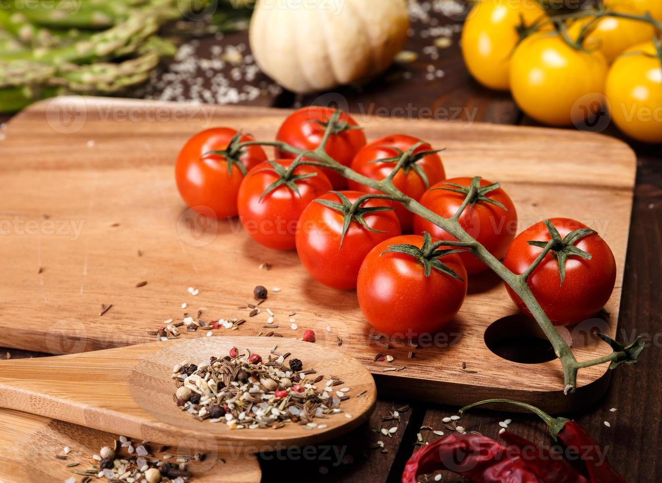 verdure e spezie foto