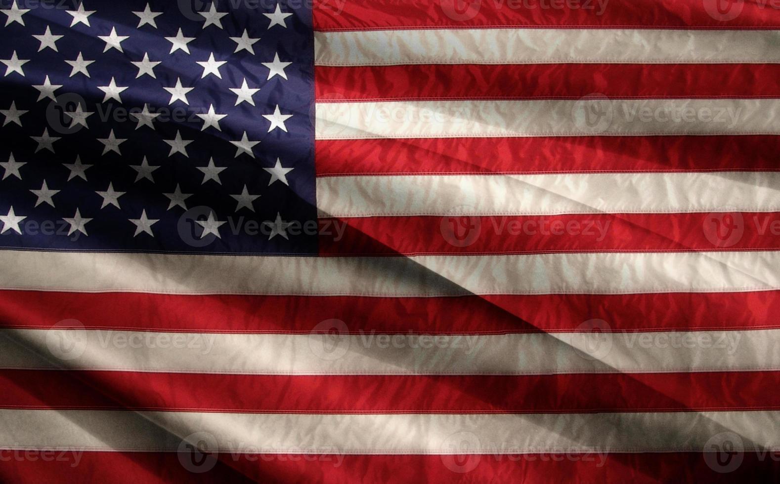 bandiera americana foto