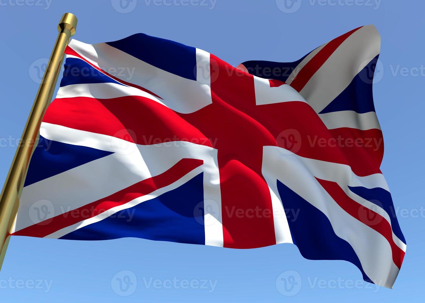 bandiera dell'Inghilterra foto