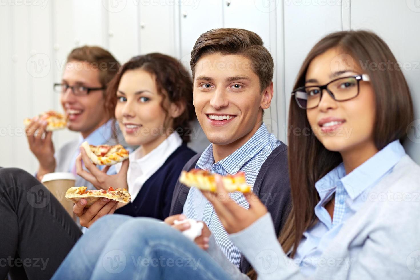 pizza in pausa foto