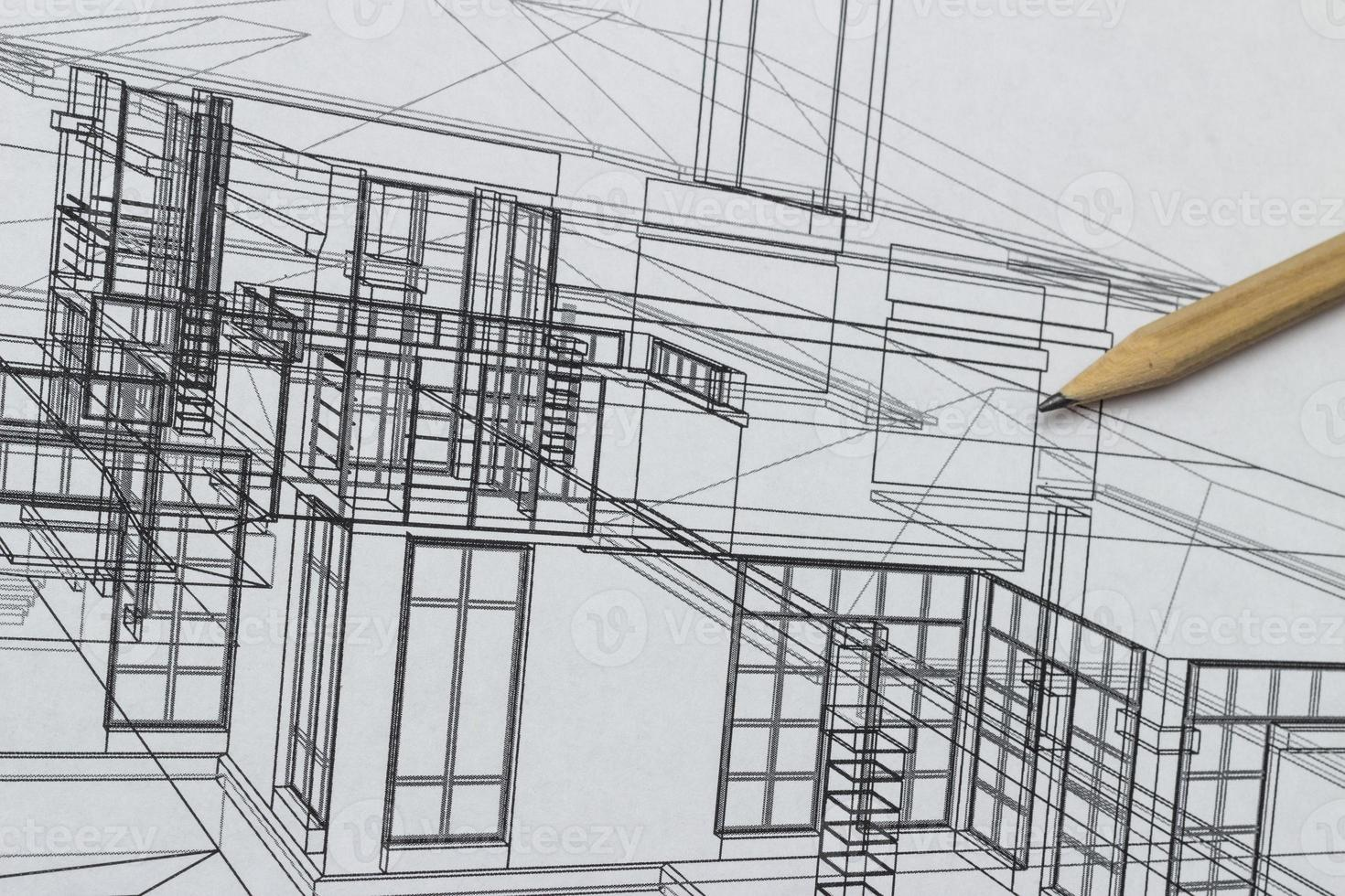 disegno di casa foto