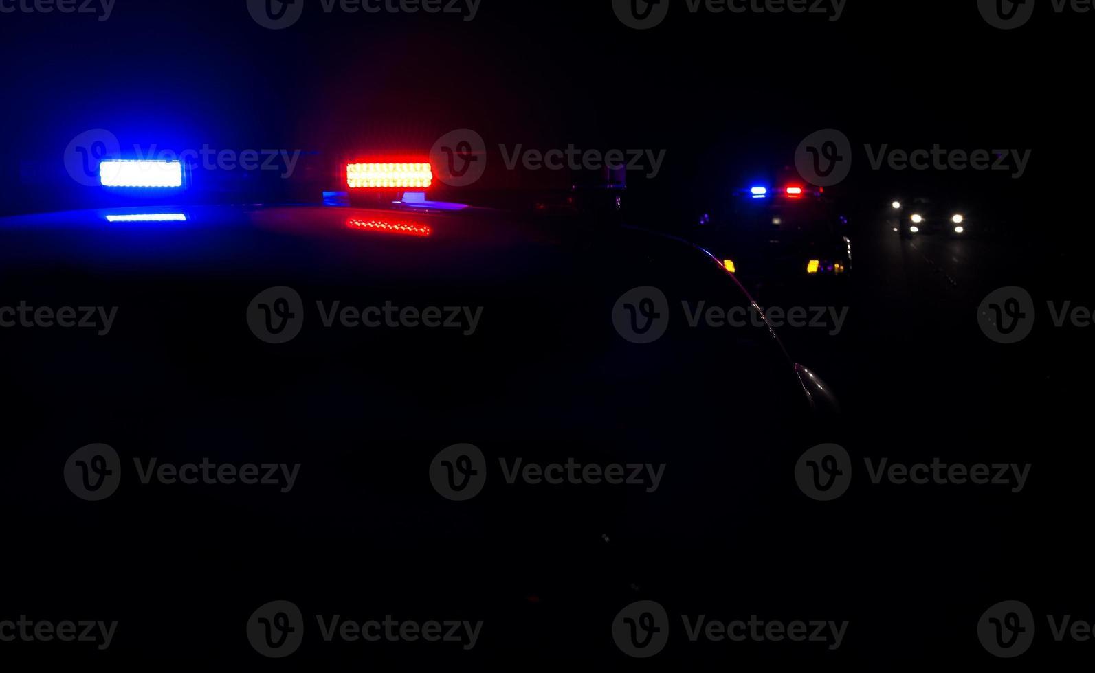 luci della polizia foto