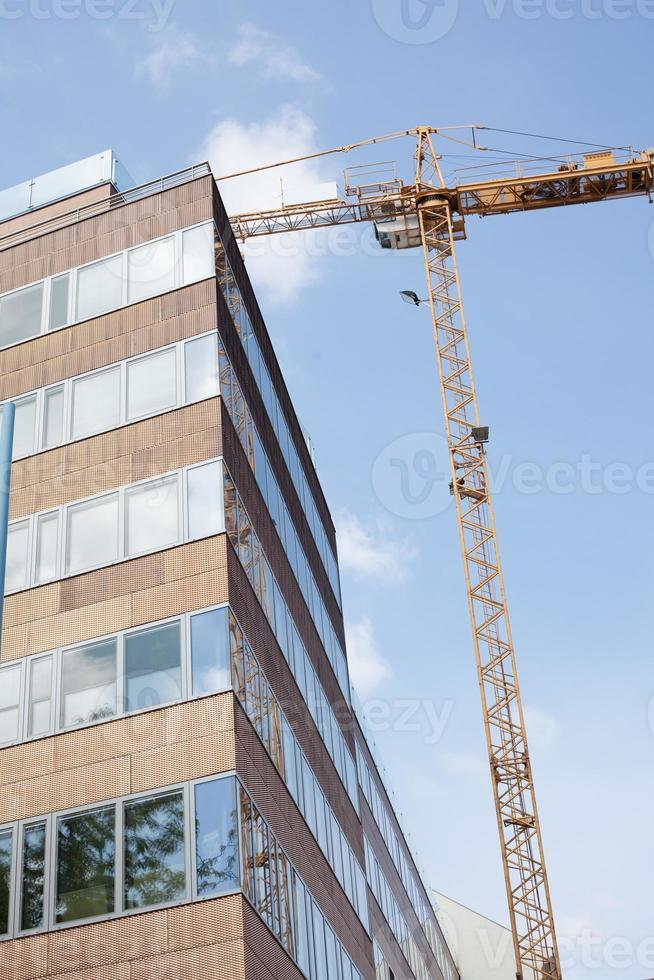costruzione di edifici moderni foto