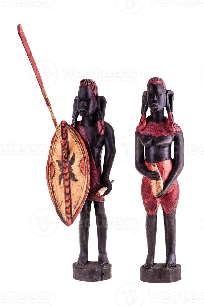 guerrieri masai foto
