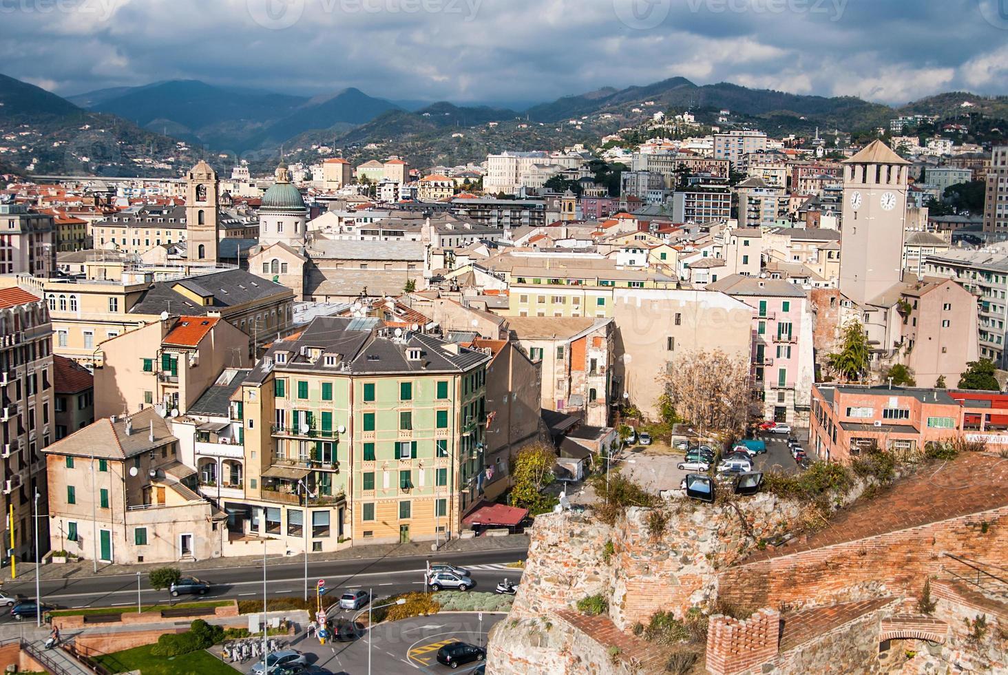 savona, italia, punto di riferimento del viaggio foto