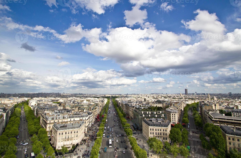 vista di Parigi foto