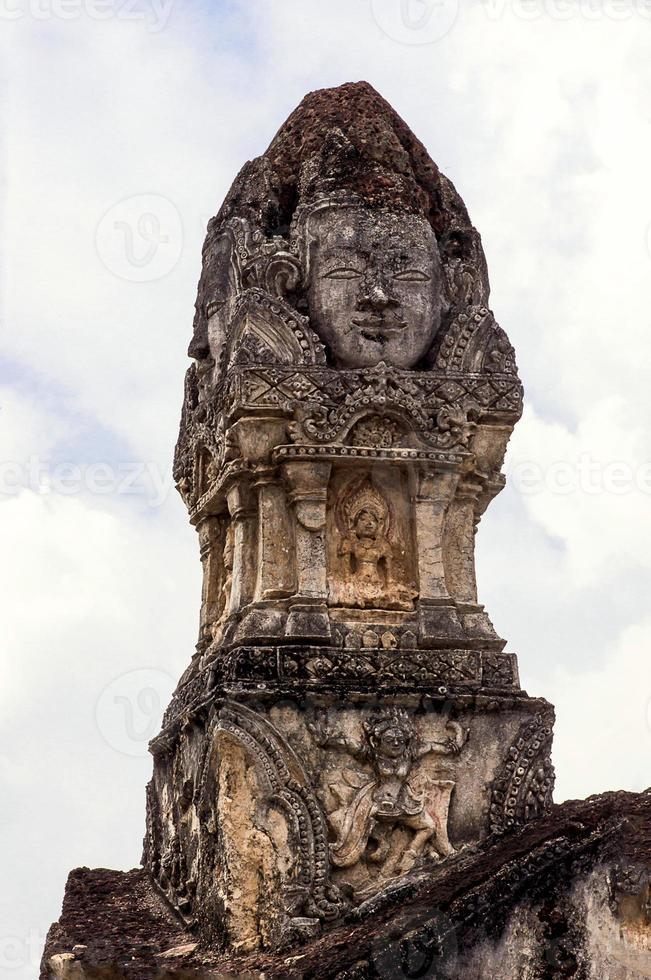 arte khmer e cultura in Tailandia foto
