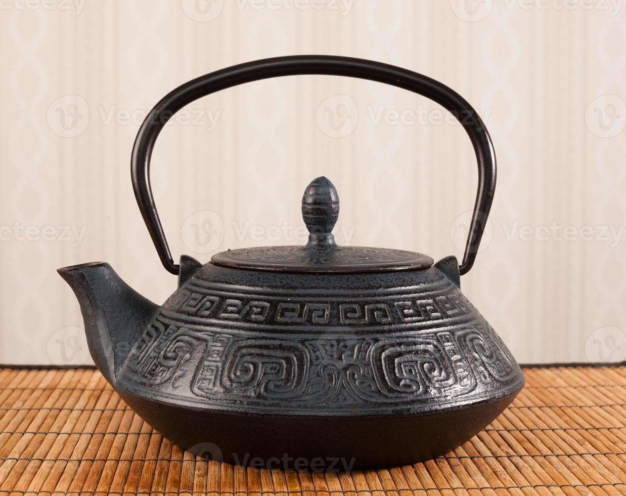 teiera orientale tradizionale foto
