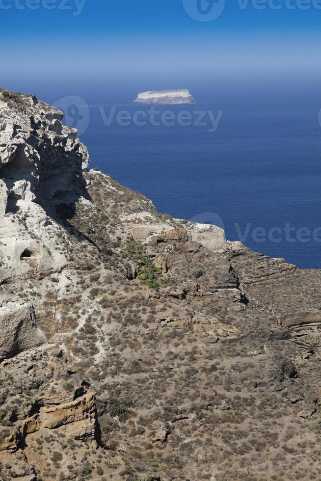 thira fira perissa oia ammoudi trassia grecia isola cicladi foto
