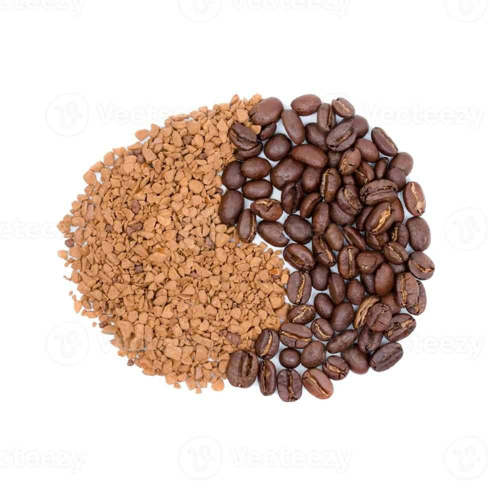 caffè sotto forma di segno foto