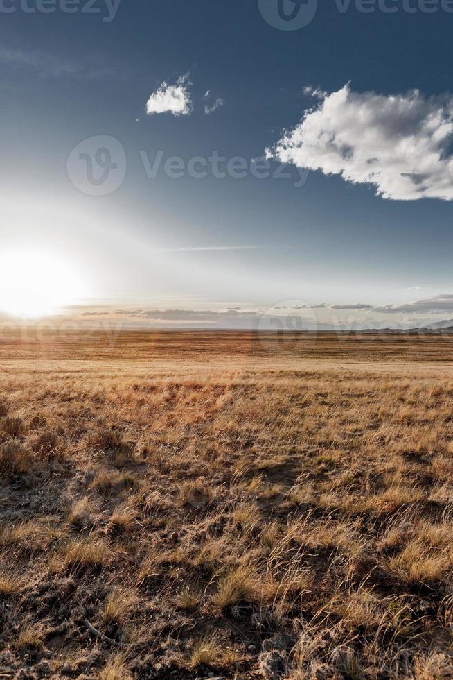bagliore del sole colorado foto