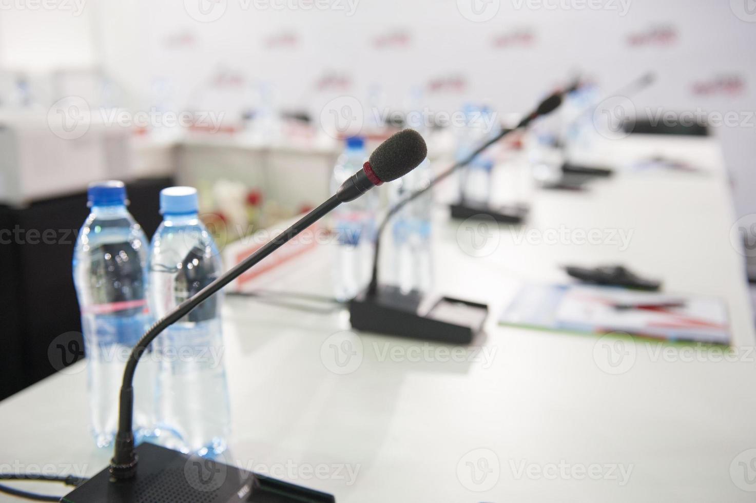 microfono da tavolo foto