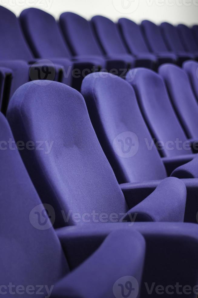 sedili sedia blu foto