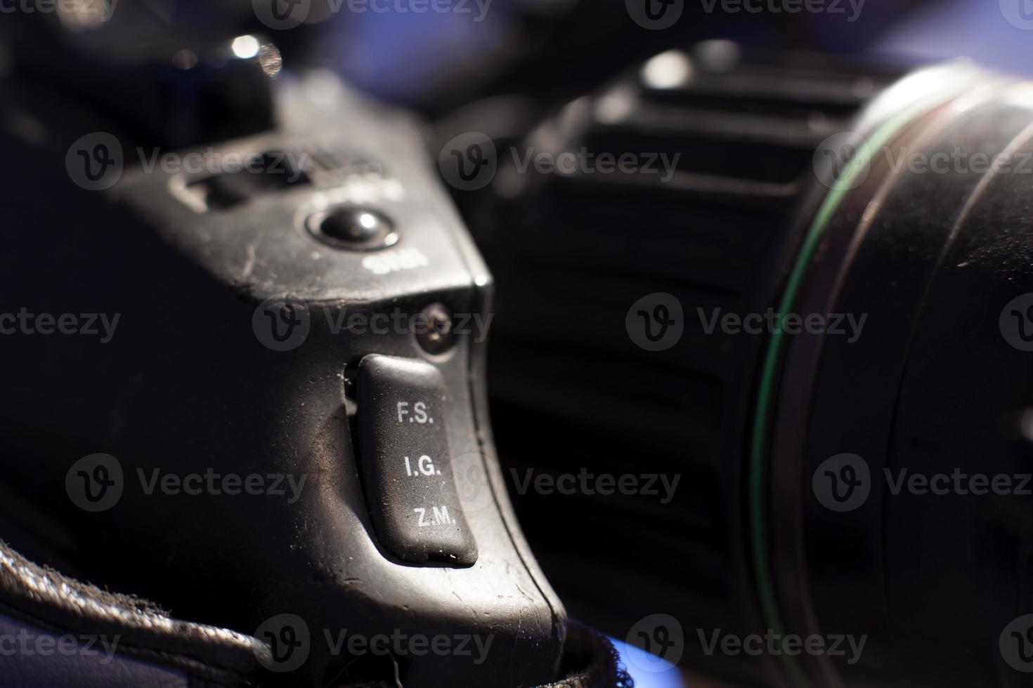 macchina fotografica, trasmissione televisiva foto