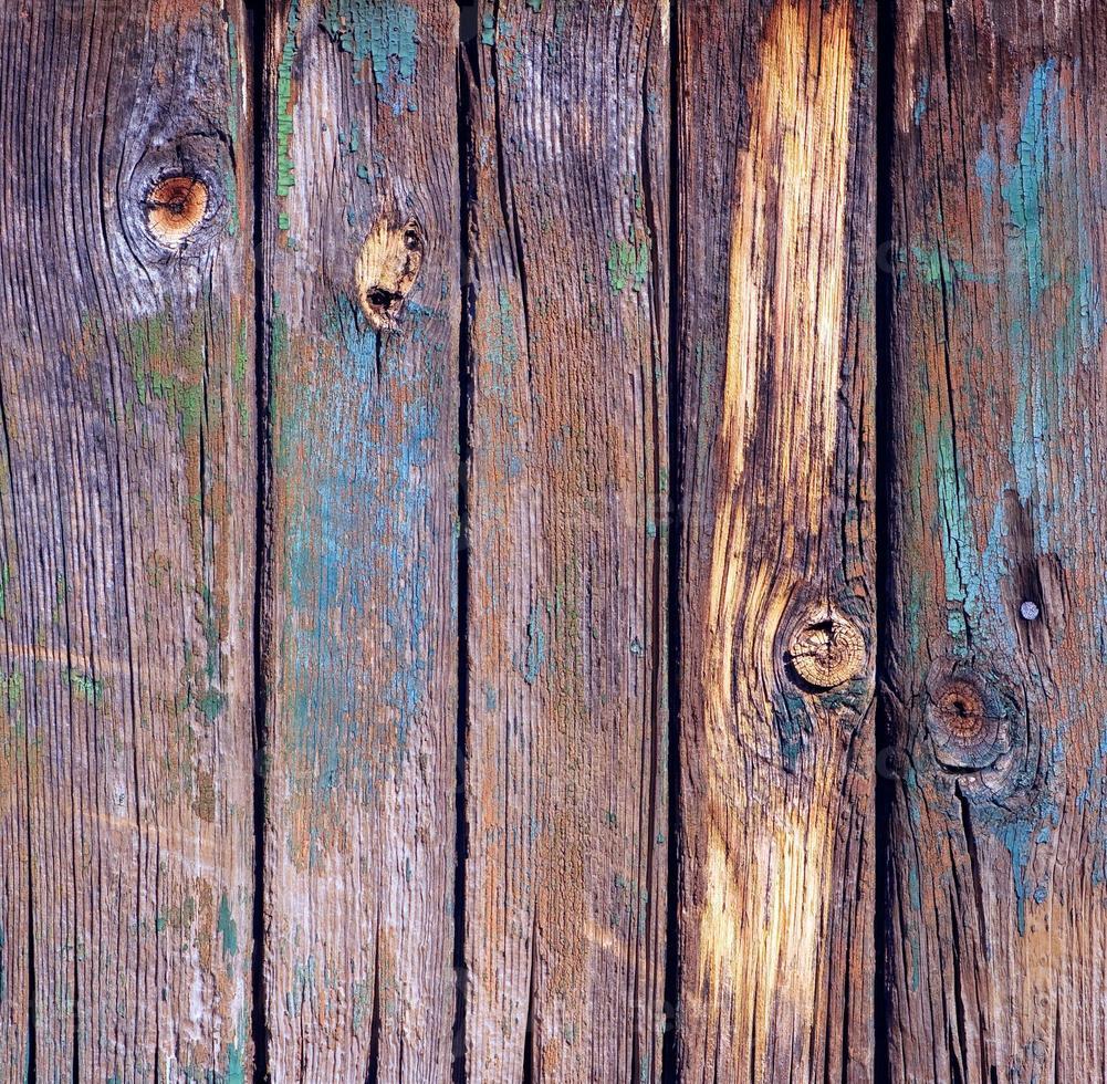 trama di vecchie assi di legno foto