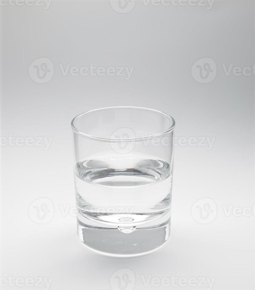bicchiere d'acqua foto