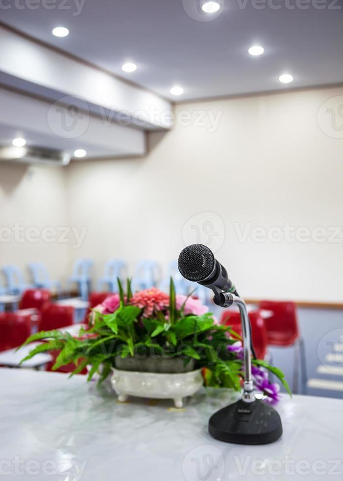 microfono nero foto