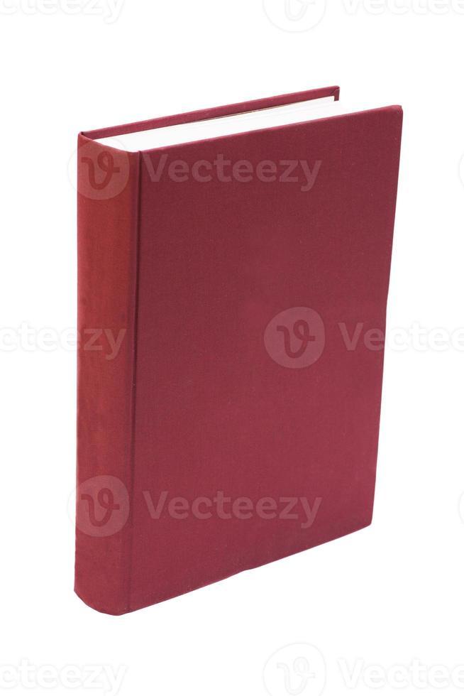 libro a copertina rigida in bianco foto