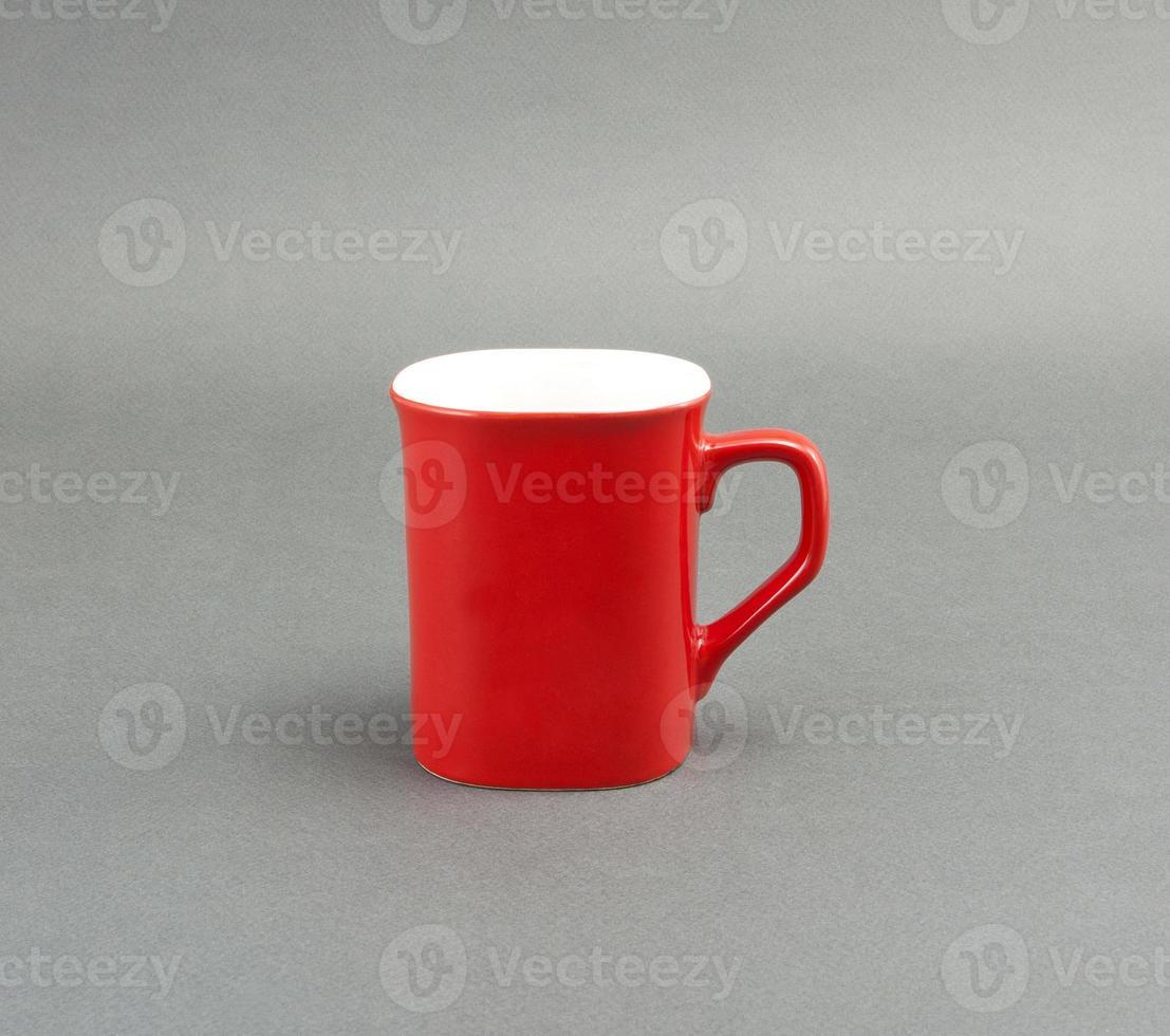 tazza di caffè rossa foto