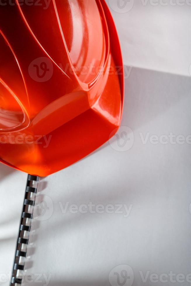 casco rosso foto