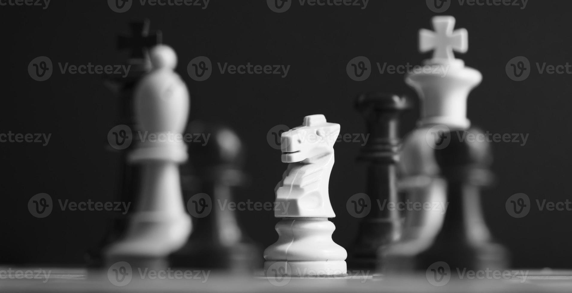 pezzi degli scacchi foto