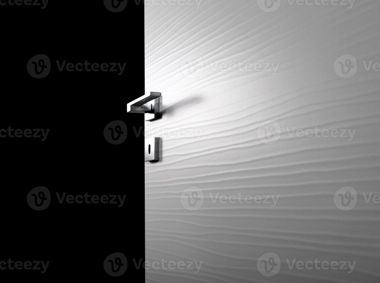 porta trasparente aperta g foto