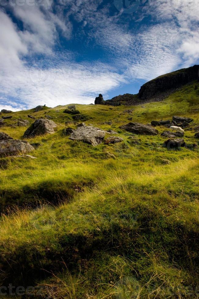pik trail - snowdonia foto