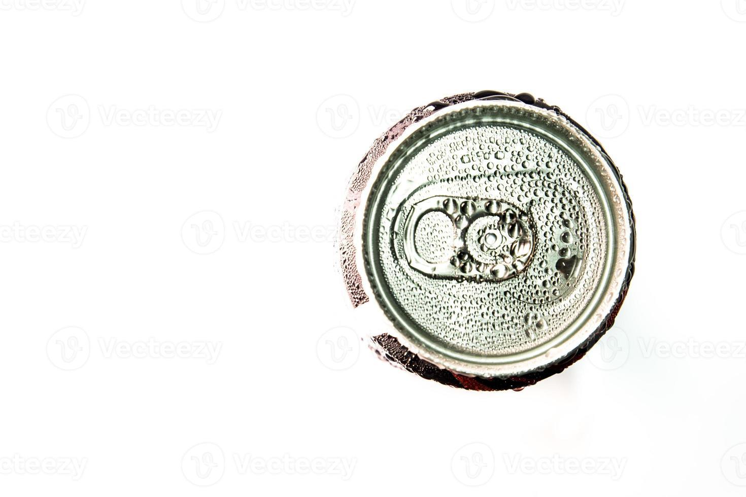 lattina di bevanda energetica foto