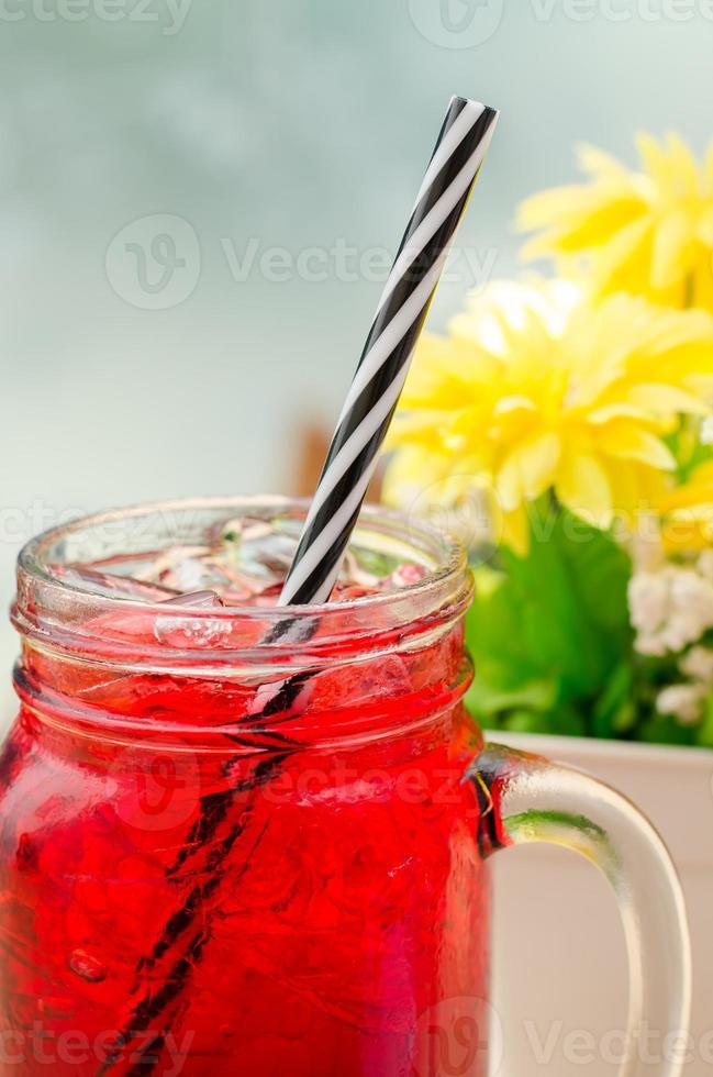 bevanda rosso ghiaccio foto