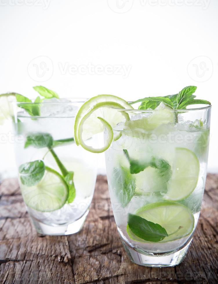 bevanda fresca al mojito foto