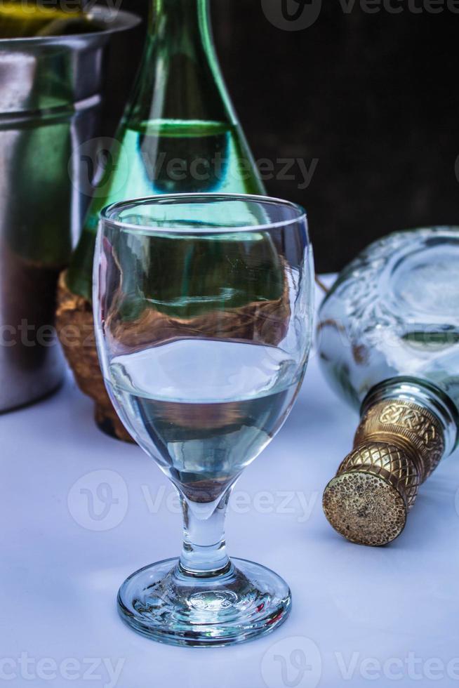 bere nel nuovo anno. foto