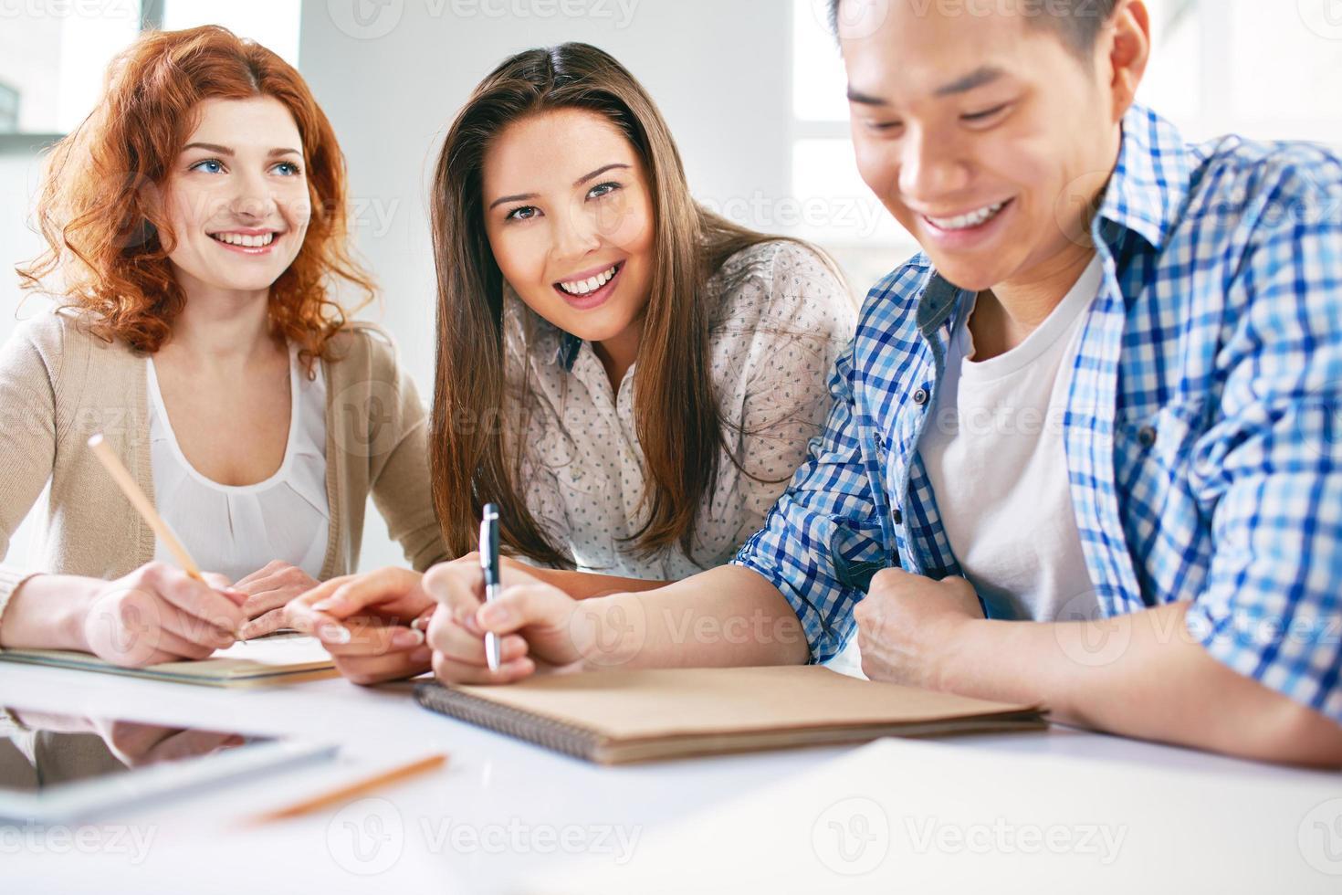 gruppo di studenti foto