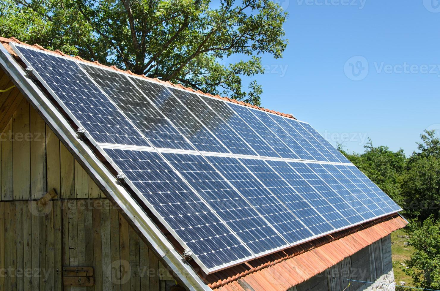 Pannello solare da 5kw foto