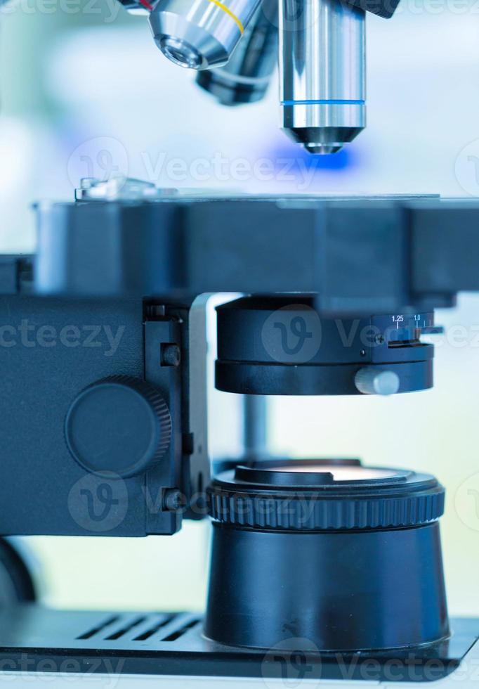 microscopio foto