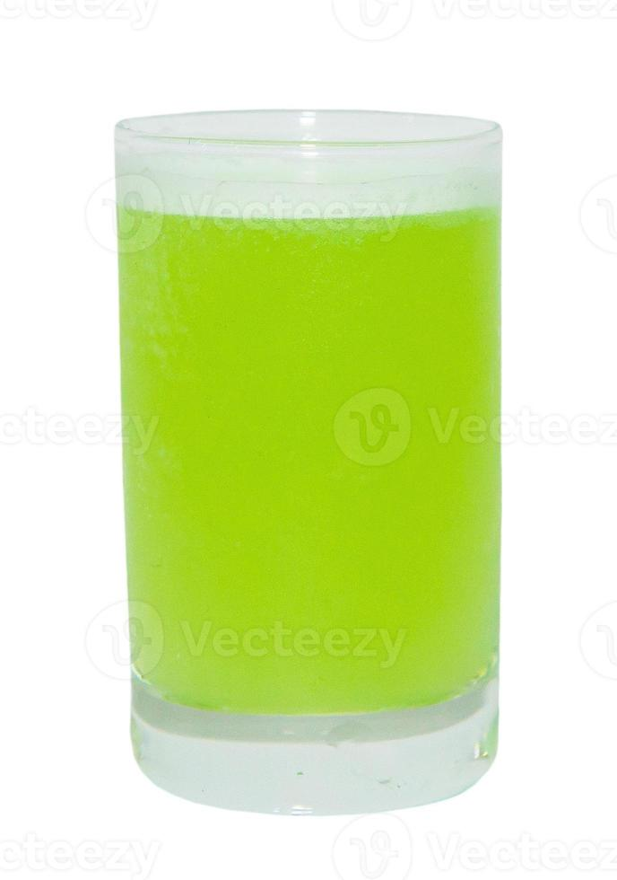 bevanda verde del colpo foto